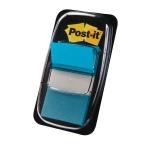 Banderitas separadoras 680-23 color azul brillo dispensador de 50