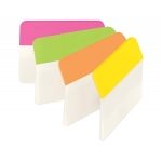 Post-it 70071355427 - Banderitas separadoras inclinadas, grandes, pack de 4 con 24 hojas ( 6 hojas por color )
