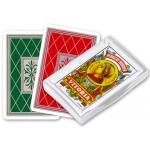 Fournier 20990 - Baraja de cartas española, Nº 27, 50 cartas, estuche de plástico