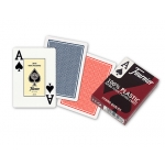 Baraja Fournier poker ingles de plástico Nº