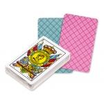 Fournier 35-50 - Baraja de cartas española, caras catalanas, 50 cartas