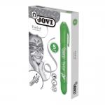 Barra de maquillaje Jovi twist make-up color verde caja de 5 unidades