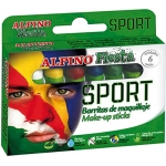 Alpino Sport DL000011 - Barras de maquillaje, caja de 6 colores surtidos, barra de 5 gr