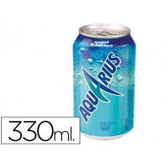 Bebida isotónica Aquarius limon lata 330ml