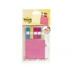 Blister papelería 3m 673-tg2 organizador de agenda con notas neon + index pequeños