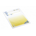 Bloc de 100 notas adhesivas quita y pon Post-it 102x149 mm mensaje telefónico