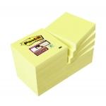 Bloc de 100 notas adhesivas quita y pon Post-it super sticky 51x51 mm