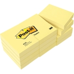 Bloc de 100 notas adhesivas quita y pon Post-it 50x38 mm