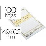 Bloc de notas adhesivas quita y pon Post-it con 100 hojas mensaje telefónico