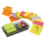Bloc de notas adhesivas quita y pon Post-it dispensador de index