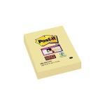 Bloc de 100 notas adhesivas quita y pon Post-it super sticky 51x76 mm