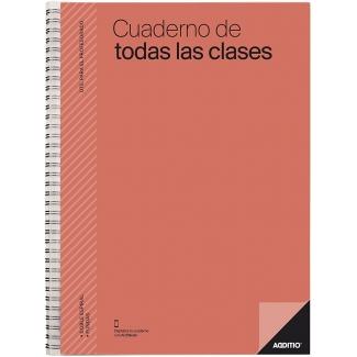Additio P222 - Cuaderno de todas las clases, colores surtidos