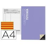 Bloc de tutoria Additio tamaño A4 datos personales faltas de asistencias ficha del alumno en catalan