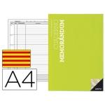 Bloc de tutoria Additio tamaño A4 memorandum planificación semanal contenido actividades y temas pendientes en catalan