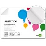 Bloc dibujo Liderpapel artístico encolado 230x325 mm 20 hojas 130 gr/m2 sin recuadro