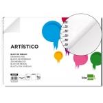 Bloc dibujo Liderpapel artístico espiral 460x325 mm 20 hojas 130 gr/m2 m2 sin recuadro