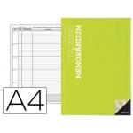 Bloc memorandum Additio tamaño A4 planificación semanal del curso