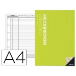 Additio P122 - Cuaderno memorándum, tamaño A4, colores surtidos