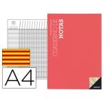 Bloc notas Additio tamaño A4 plan de curso y evaluación continua en catalan
