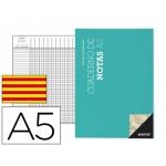 Bloc notas Additio tamaño A5 plan de curso y evaluación continua en catalan