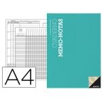 Bloc notas memo Additio tamaño A4 evaluación continua mas planificación semanal del curso