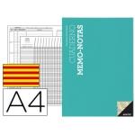 Additio P151 - Cuaderno memo-notas, tamaño A4, texto en catalán, colores surtidos