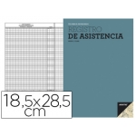 Bloc registro de asistencia Additio para el control de asistencia diario y mensual 18,5 x28,5 cm