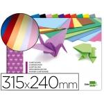 Bloc trabajos manuales Liderpapel cartulina 240x315 mm 10 hojas colores surtidos