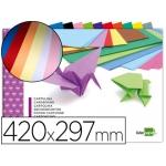 Bloc trabajos manuales Liderpapel cartulina 297x420 mm 10 hojas colores surtidos