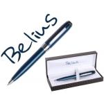 Bolígrafo Belius cagliari color azul perlado en estuche
