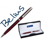 Bolígrafo Belius dublin color rojo en estuche