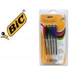Bolígrafo Bic cristal color surtido blister 5