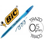 Bolígrafo Bic cristal gel color azul