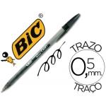 Bolígrafo Bic cristal gel color negro