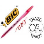 Bolígrafo Bic cristal gel color rojo