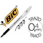 Bolígrafo Bic cristal grip color negro