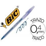 Bolígrafo Bic cristal lady color azul