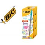 Bolígrafo Bic cristal large fashion cajas de 20 unidades colores surtidos