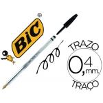 Bolígrafo Bic cristal stylus con puntero para pantalla tinta aceite punta 1 mm color negro