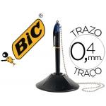 Bolígrafo Bic cuatro colores con peana