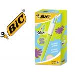 Bolígrafo Bic cuatro colores pastel edicion limitada