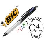 Bolígrafo Bic cuatro colores stylus con puntero para pantalla