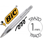 Bolígrafo Bic select triopen grip sistema rosca retractil recargable 1.0 mm
