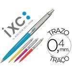 Bolígrafo Inoxcrom 55 fiesta colores surtidos