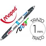 Bolígrafo Maped cuatro colores