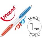 Bolígrafo Maped twin tip 2 colores