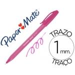 Boligrafo Paper Mate Inkjoy 100 rosa