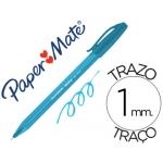 Boligrafo Paper Mate Inkjoy 100 turquesa