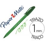 Boligrafo Paper Mate Inkjoy 100 verde