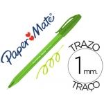 Boligrafo Paper Mate Inkjoy 100 verde lima